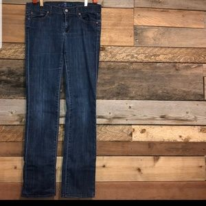 7 for All Mankind straight leg Jean 29